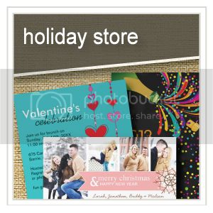 Holiday Store - Christmas Invitations - Thanksgiving - Halloween - Father's Day - Valentine's Day
