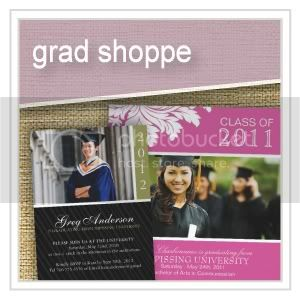 Grad Shoppe - Graduation - Invitations