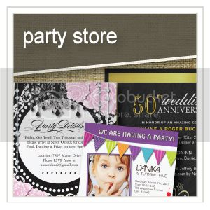 Party Store - Party Invitations - Masquerade Invitations