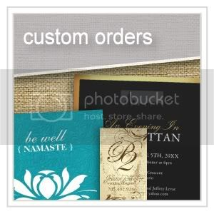 Custom Orders - Logos - Business Branding