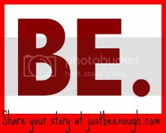 Just Be Enough - Sharing Stories - Badge