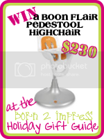 Win a Boon Flair Pedastool High chair