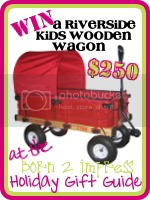 Win a Riverside Wooden Wagon