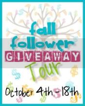 Fall Follower Giveaway Tour
